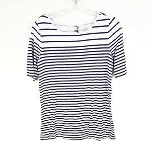 LOFT Short Sleeve Sailor Striped Tee Size S